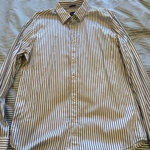 Armani Exchange Slim Fit Striped Shirt XL
